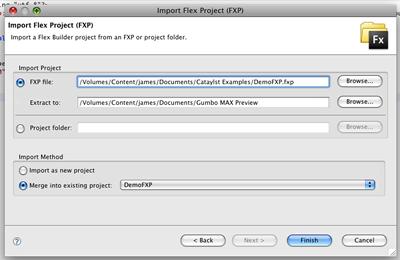 Import FXP Dialog